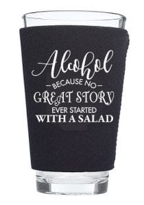 Solo cup pint glass Koozie
