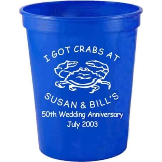 Stadium cups, customized