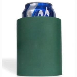 Green hard foam koozie
