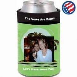 neoprene full color koozie