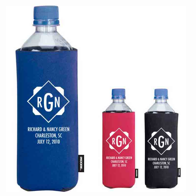 45069| Basic Collapsible KOOZIE® Water Bottle Kooler