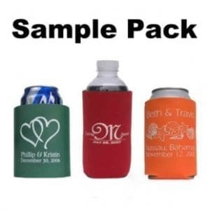 Kustom Koozies - sample pack - pick your color