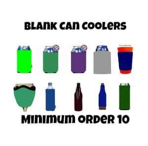 Order Blank Koozies