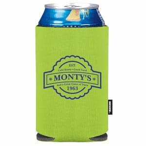 Full color neoprene koozie