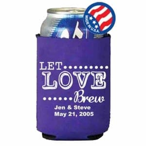 Full Color Fabric Koozie
