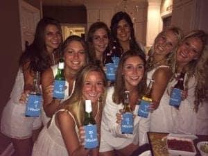 21 and fabulous beer bottle huggers
