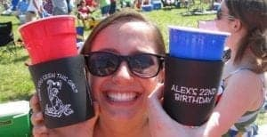 22nd birthday can cooler