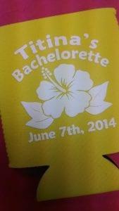 Bachelorette Party stubby