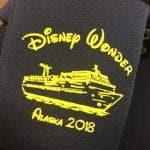 Disney wonder Koozie