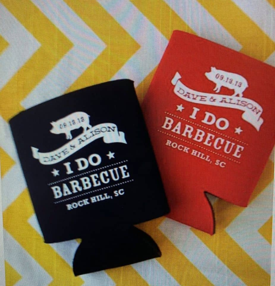 i do bbq koozies