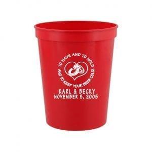 Stadium Cup 16 oz, Red