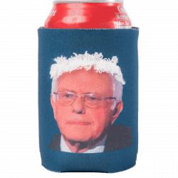 Bernie Sanders funny hair Koozie