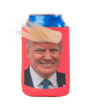 Trump Funny Hair Koozie