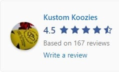 Koozies reviews on Facebook