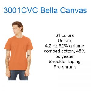 3001CVC Bella Canvas