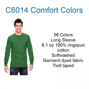 C6014 Comfort Colors Long Sleeve