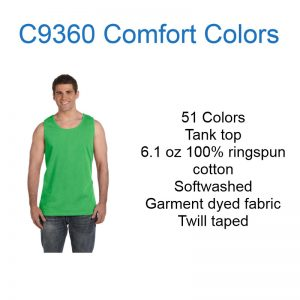 C9360 Comfort Colors Tank top