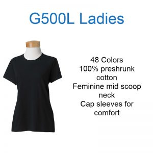 G500L ladies short sleeve