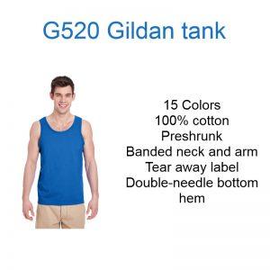 G520 Gildan Tank top