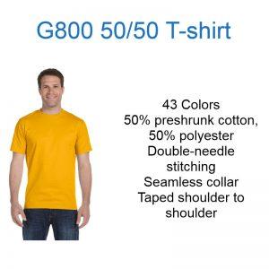 G800 50-50 t-shirt