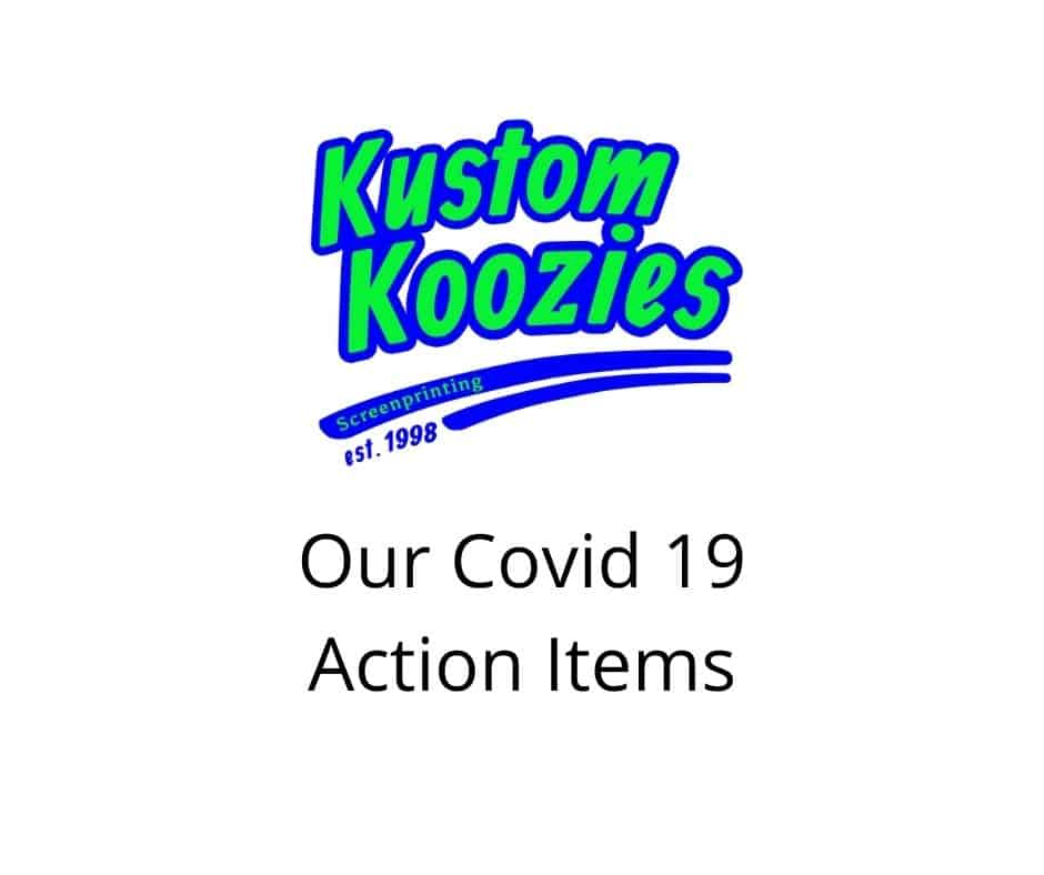 Covid 19 action items