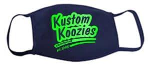 Mask Kustom Koozies Logo