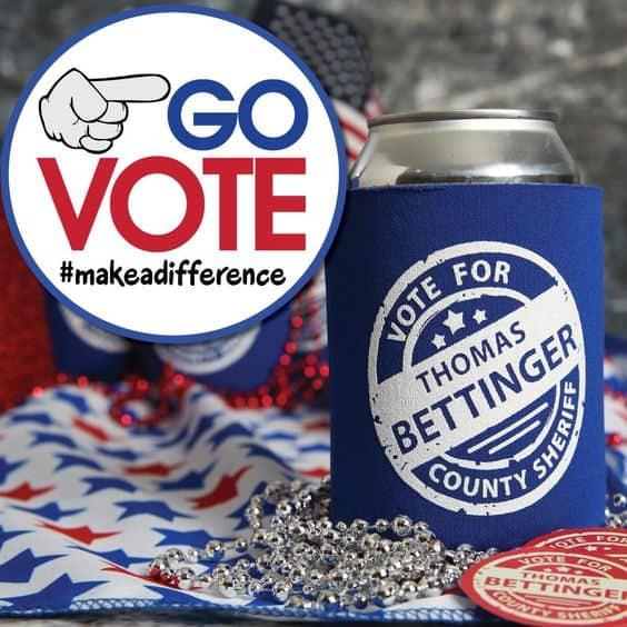 election koozies