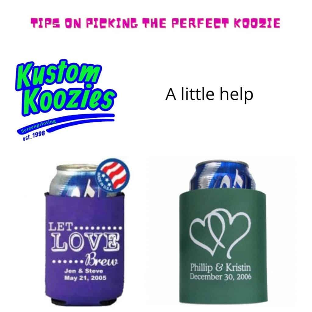 Tips for picking the perfect koozie